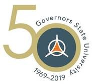 Governors State University 50th Anniversary Logo