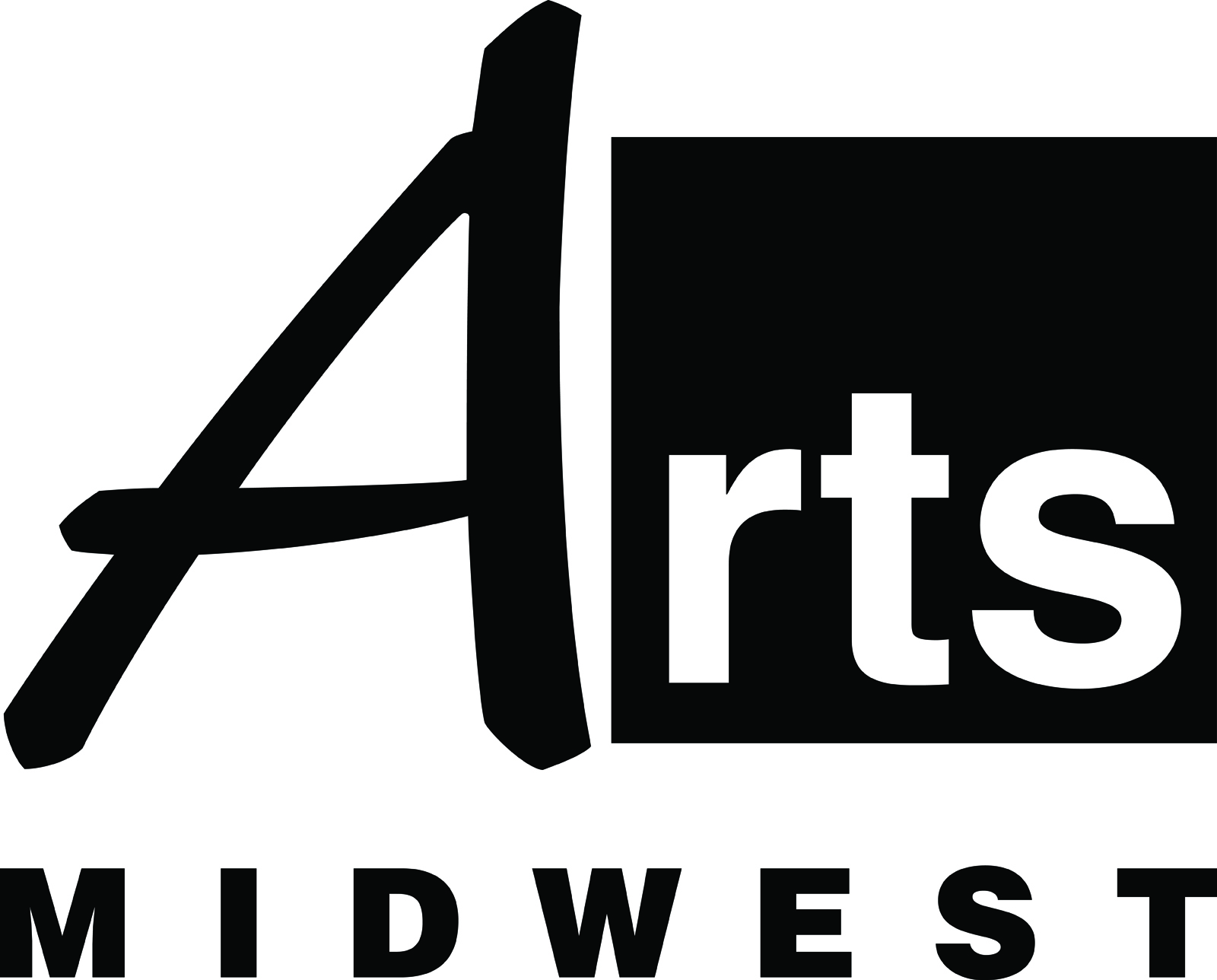 Arts Midwest Logo BW