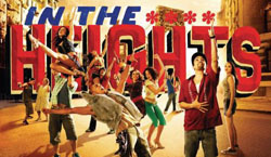 All Events by Date - In the Heights