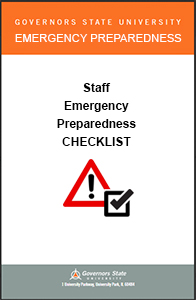 Staff Emergency Preparedness Checklist