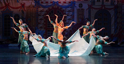 Center for Perfroming Arts yearly Nutcracker performance