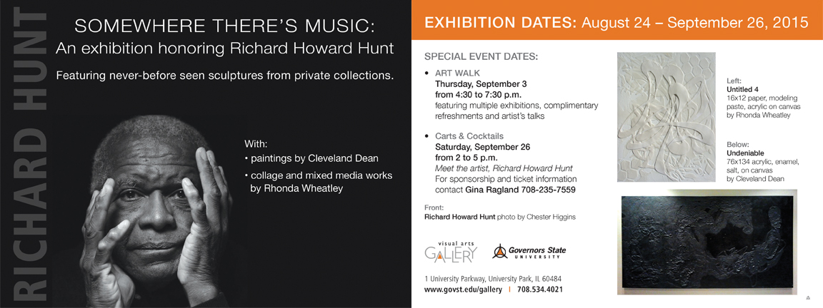 Renowned Sculptor Richard Howard Hunt Honored Guest at Carts & Cocktails Benefit Fundraiser on September 26