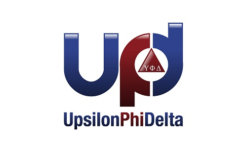 Upsilon Phi Delta Honor Society logo