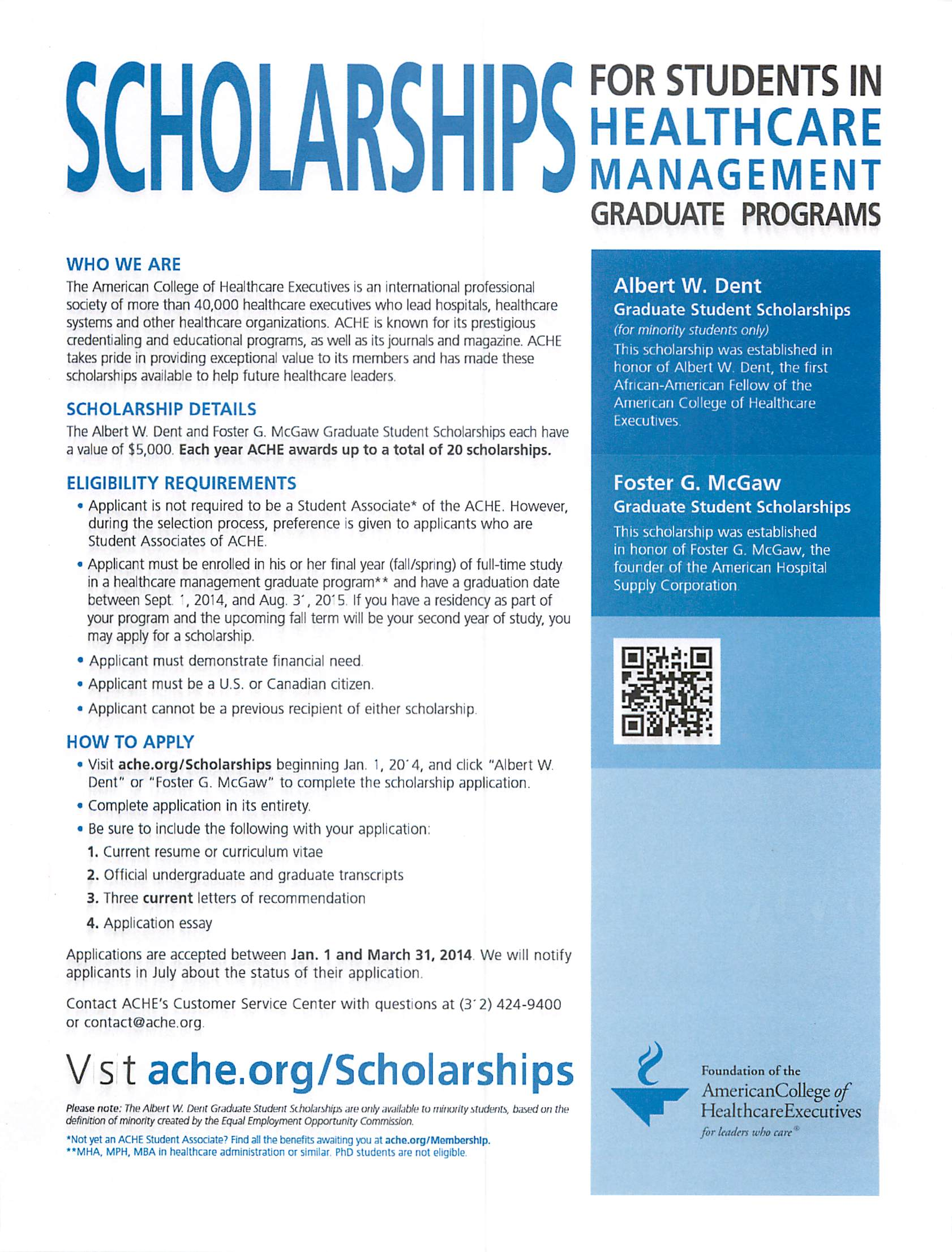 Health Administration Scholarships