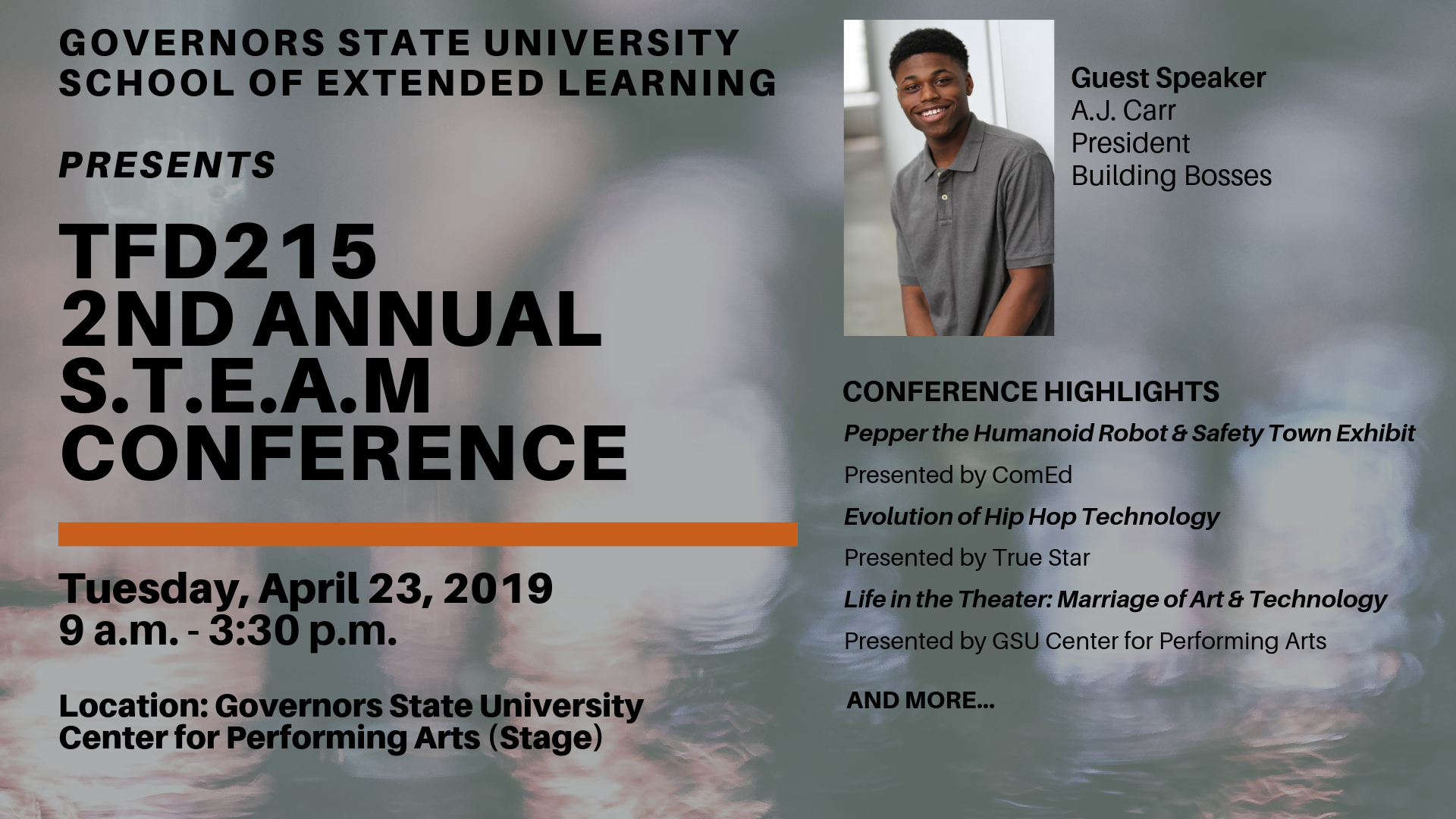 Welcome to Governors State University in Chicago's Southland