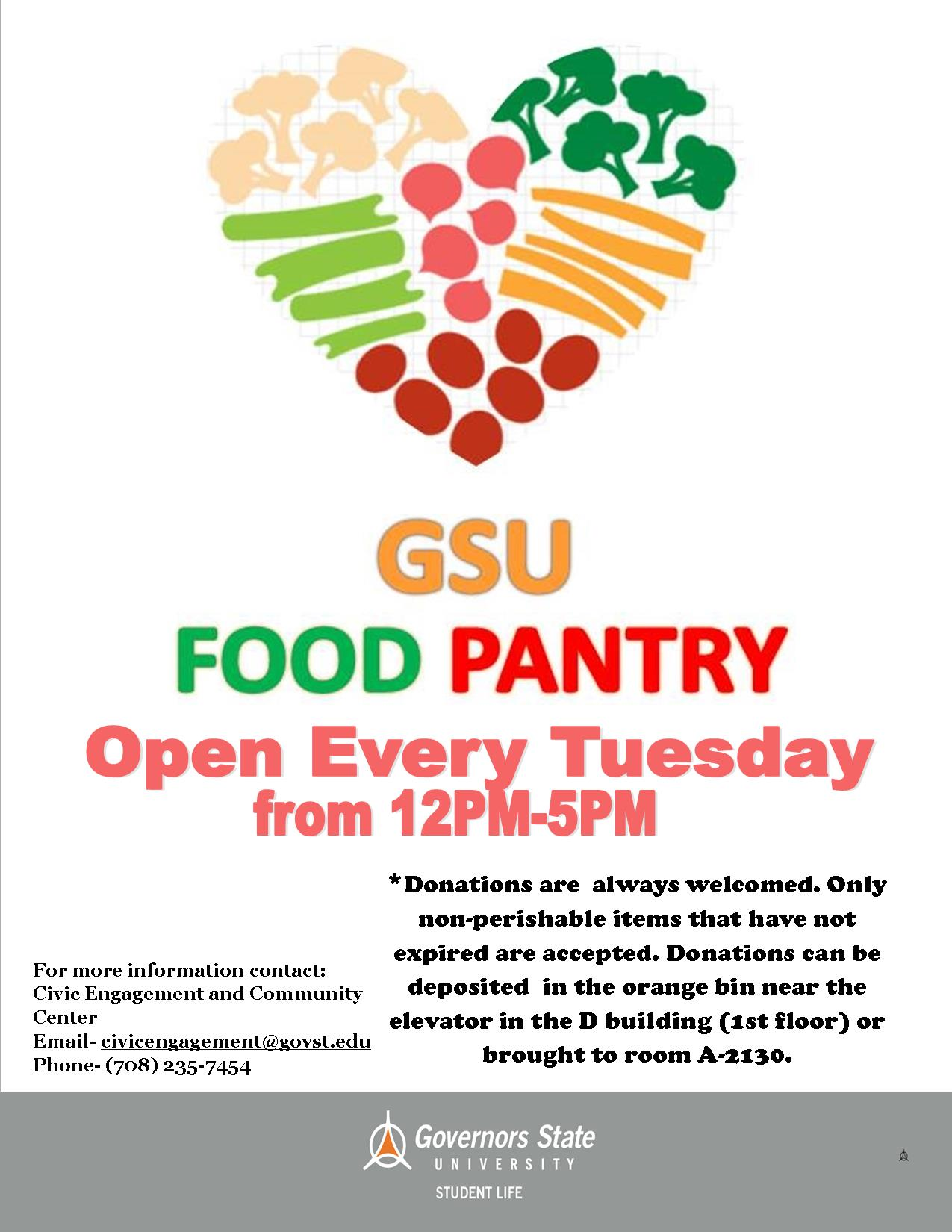 Food Pantry Flyer 2015