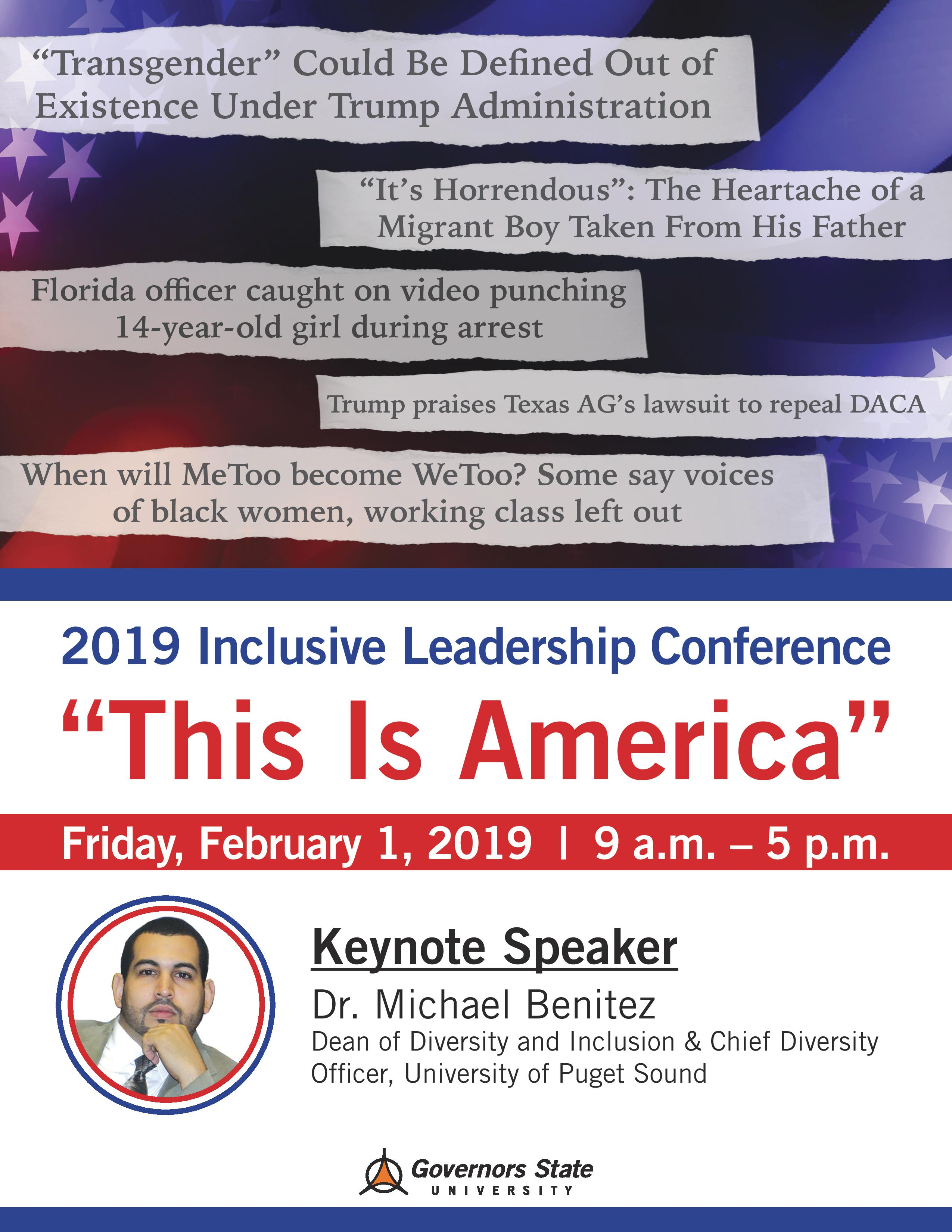 2019 INCLUSIVE LEADERSHIP CONFERENCE