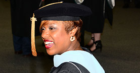 Doctoral Candidates Participate in Hooding Ceremony