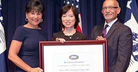 Illinois SBDC International Trade Center at GSU Receives Presidential Award for Export Successes