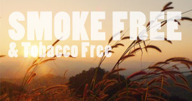 Smoke Free and Tobacco Free Campus begins July 1